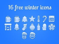 16 free Christmas icons