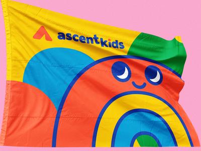 Ascent Kids kids illustration kids mockup texture vector branding illustrator valkuks cool kawaii lovely ilustración illustration