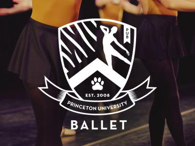 Princeton University Ballet Logo 2