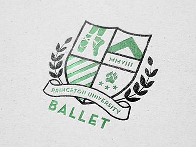 Princeton University Ballet Logo 3