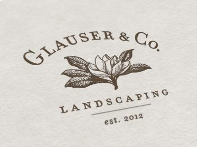 Glauser & Co. Landscaping Logo by Jody Worthington on Dribbble