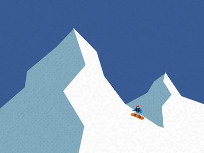 Emoji VII emoji mountain snowboard