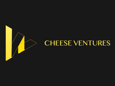 Logo Design venture triangle yellow logo