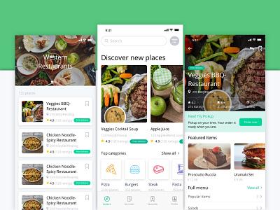 Food Delivery App Design food delivery app app designer interface design app ux ui design uiux