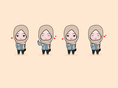 My girl chibi illustration