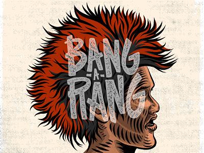 Ru-fi-ooooo! bang-a-rang movies hook typography handlettering illustration