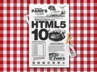 HTML5 Hamburgers 10¢
