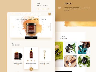 Sahajan 03 website ux ui minimal design creative clean branding app