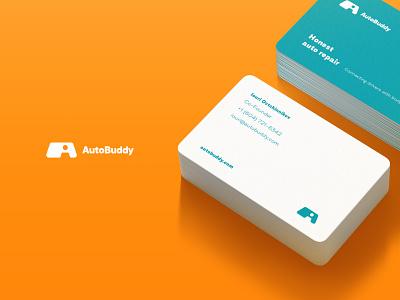 Autobuddy website ui ux minimal logo creative design clean branding app
