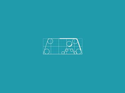 Autobuddy Logo Grid art branding color ux web illustration web design ui
