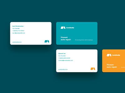 Autobuddy ux ui minimal logo creative design clean branding app