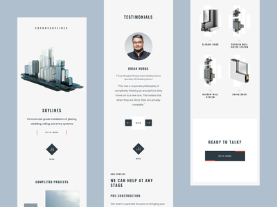 FutureSkyLines — Skylines Mobile web app design 3d ux web design ui
