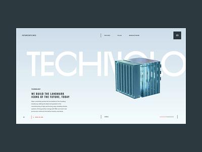 FutureSkyLines Transitions brand inspiration design ui ui design interaction ux ux design web web design