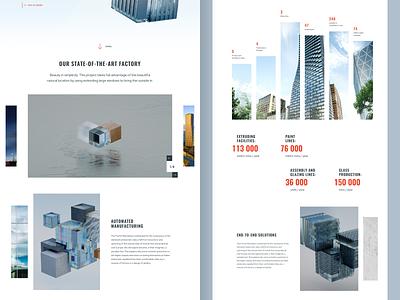 FutureSkyLines Manufacturing app branding clean creative design logo minimal ui ux website