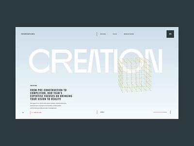 FutureSkyLines Transitions web design web ux design ux ui design ui interaction inspiration design brand