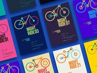 Nightride posters
