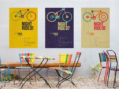 NightRide non profit posters