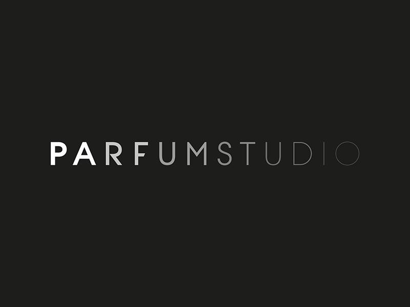 ParfumStudio Logotype parfum retail branding typography identity minimalism