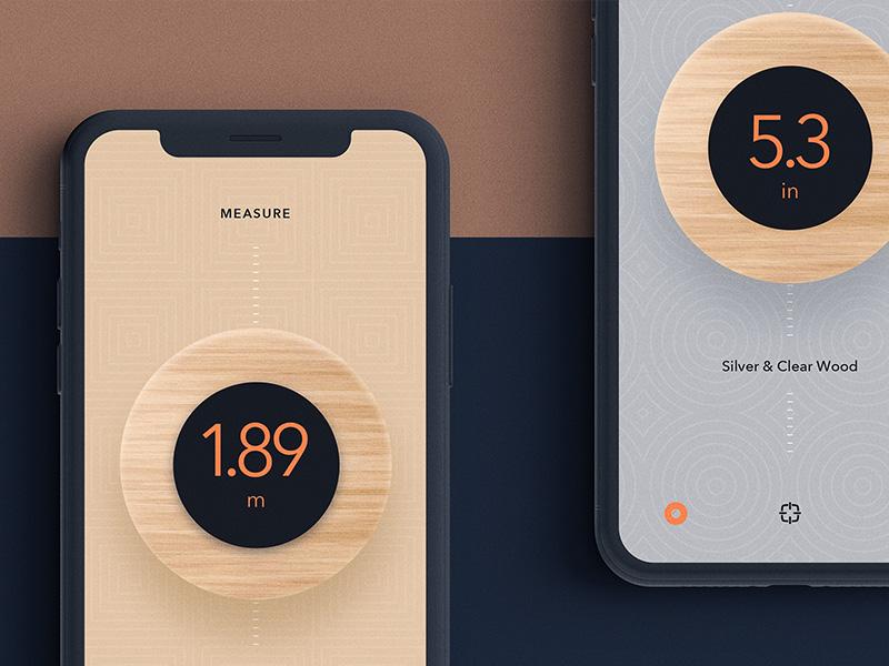 Oseyeris — Macaron UI ui app measuring