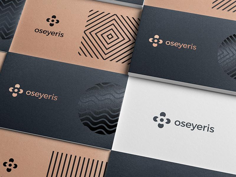 Oseyeris Cards print spot gloss craft branding accessible