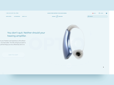 Menu To Product Page Transition ecommerce transition interaction 3d ui web design