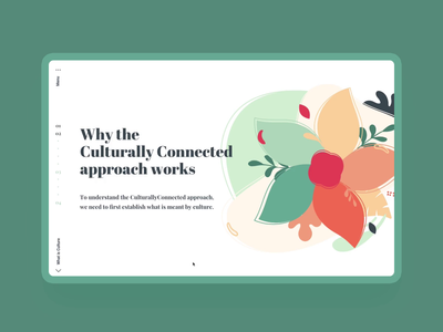 Culturally Connected UI Tests educational education health care healthcare abstract infographic web animation animation illustration ui web design