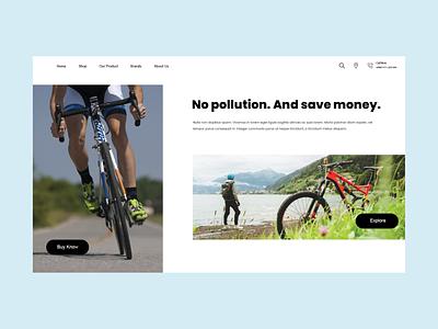 Cycle landing Page landing page cycle branding logo illustration app ios design web website ux ui