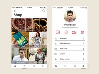 Ecommerce shopping app