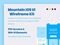 Mountain IOS UI Wireframe Kit