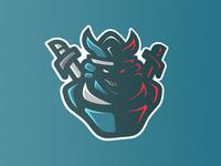 Samurai Mascot v2