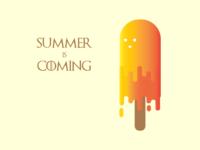 Summer IcePop Illustration