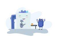 Automation Illustration KeyPay