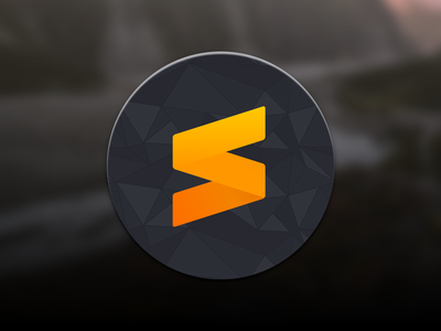 Sublime Text 3 Icon for macOS icon macos 3 sublime text 3 text sublime