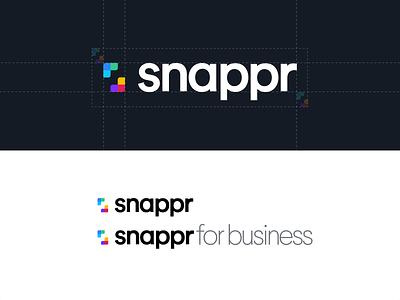 Snappr Full Re-brand branding logo guideline branding and identity photography rebranding rebrand