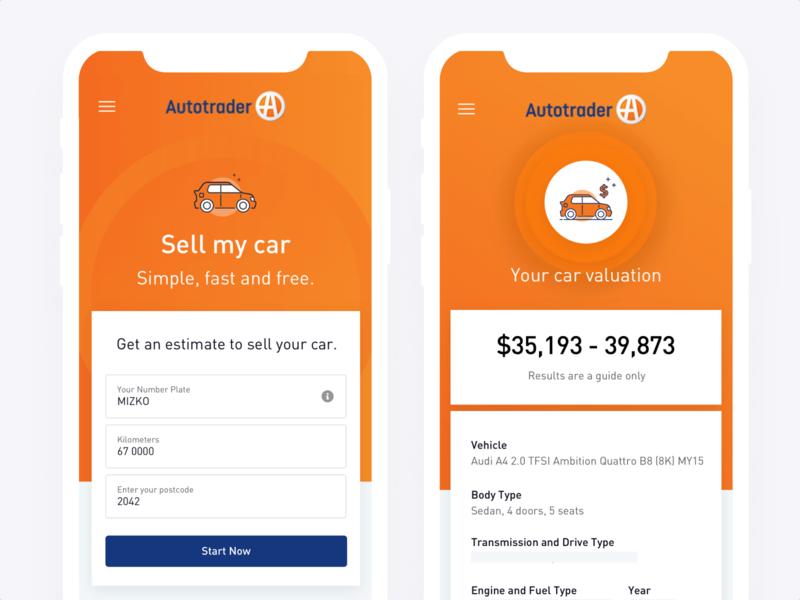 Autotrader Mobile Design car android ios uiux ui mobile ui mobile