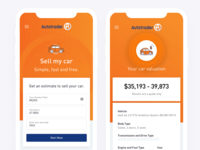 Autotrader Mobile Design By Philippe Hong For Raw Studio On Dribbble