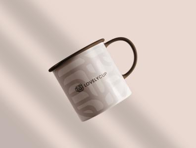 Lovelycup branding - cup mockup