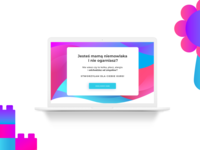 Course Landing page mockup for: http://www.kursy.mamalekarz.pl