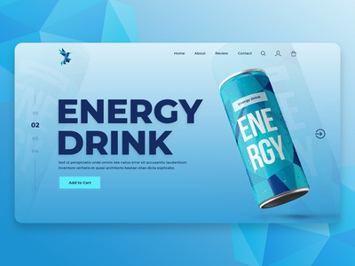 Create an Energy Drink Website
