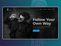 Fashion Photography Website