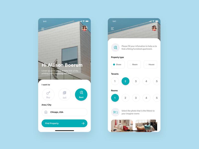 🏠Real Estate Mobile App Design
