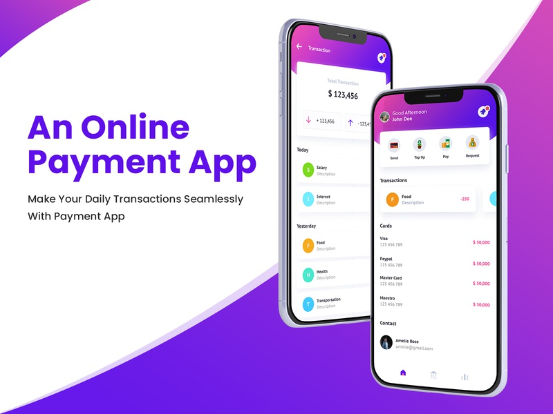 Develop a Best-in-Class Payment App like PayPal online payments mobile design app like paypal app like paypal app concept online transaction shopping online ux app ui mobile app money payment app p2p app of the week paypal online shopping transactions