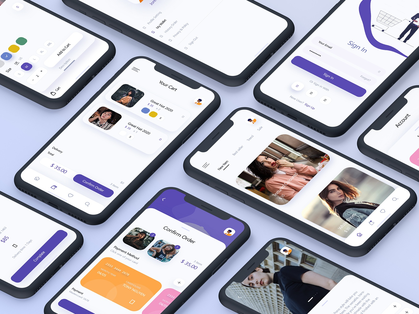 Best Fashion App For Android By Excellent Webworld On Dribbble