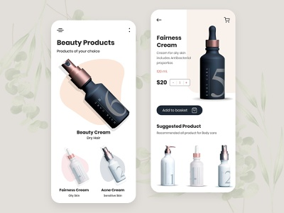 Top UI/UX Design for Beauty Mobile App ux design app design mobile app design ui illustration design beauty and the beast beauty product beauty salon beauty logo beauty app beauty uiux