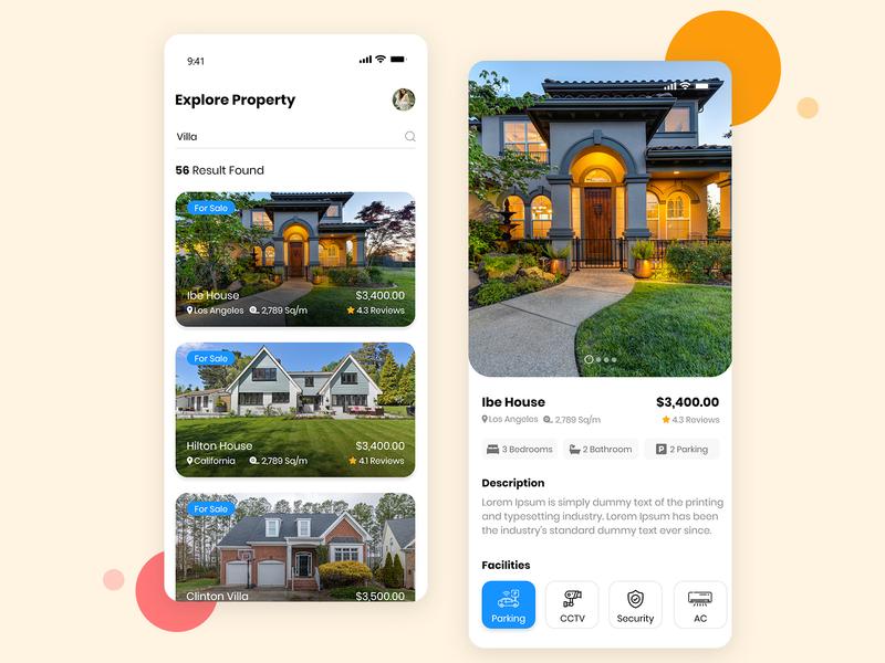 Top Real Estate App UI/UX Design mobile app design app design mobile app ux design ux  ui uxui ui real estate realestate