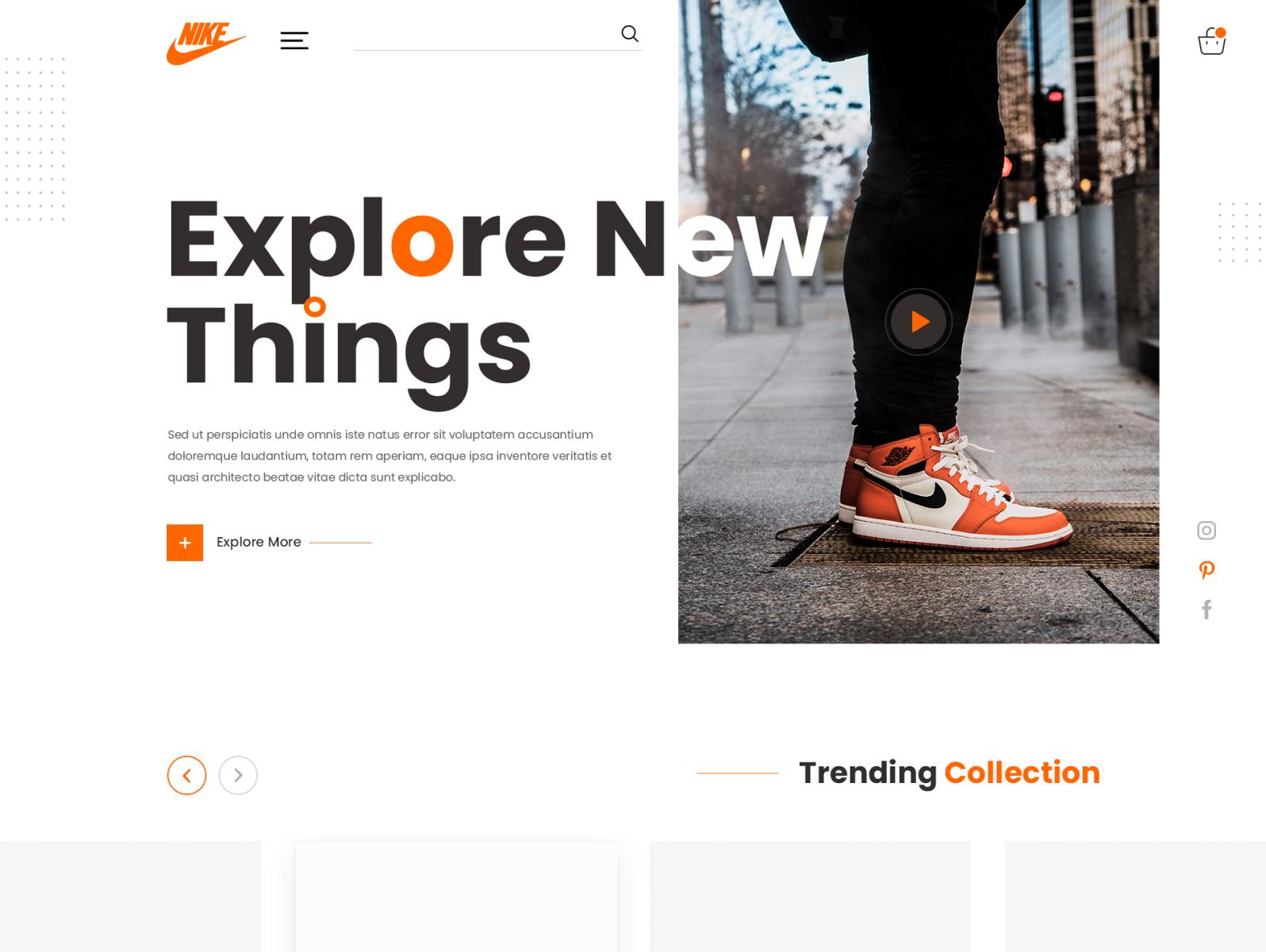 Best UI Design for Online Shoe Stores