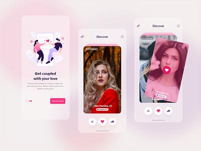 Best Couple App UI Design app ux  ui mobile app design ui app design app development mobile app dating app datingapp couple