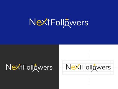 Creative logo design for next followers uidesign ui uiux branding branding design brand design logotype logo design logodesign logo