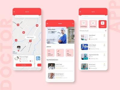 Best Doctor App UI Design in 2021 ux design ux  ui mobile app design app design app development mobile app medical design medical app doctor doctors doctor appointment doctor app