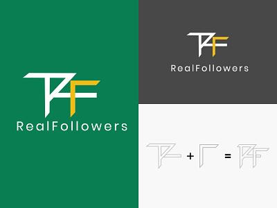 Innovative Logo Design for Real Follower uiuxdesign uiux branding designer branding design logo design branding logotype logos logo design logodesign logo
